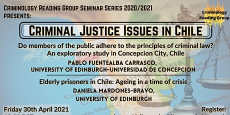 Criminal Justice Issues in Chile tickets
