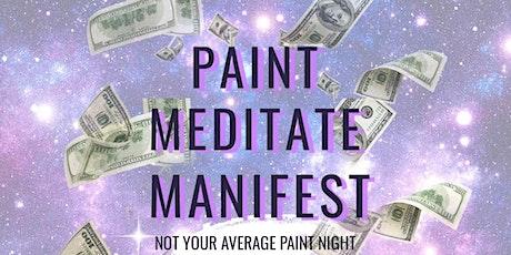 Financial Abundance Meditate  & Paint Night w/Alycia tickets