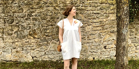 Make your own simple shift dress - sew along with Véro - 2 weekends tickets