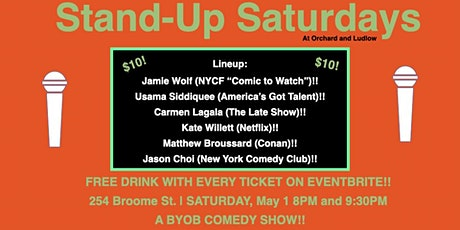LES Comedy - BYOB Comedy Show (EARLY SHOW) tickets