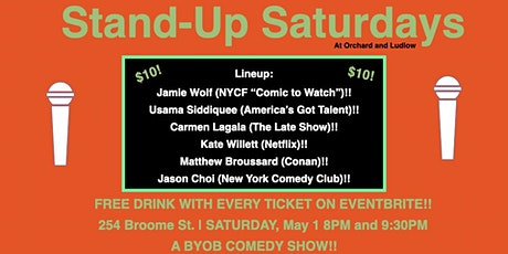 LES Comedy - BYOB Comedy Show (LATE SHOW) tickets