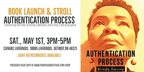 Book Launch & Stroll - Authentication Process tickets