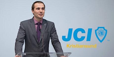 JCI Kristiansund - Bli komfortabel med å holde presentasjoner tickets