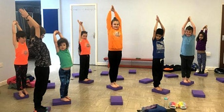 1 hour creative yoga session for children tickets