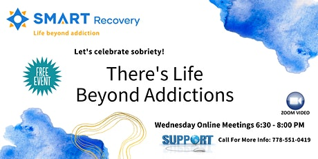 SMART Recovery Online Addiction Support Meeting tickets