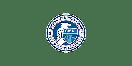DHS CISA ESF #2 Emergency Response Organization Branch Training Webinar tickets