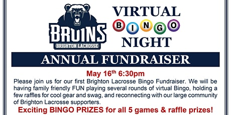 Brighton Lacrosse Club Annual Fundraiser & Bingo Night tickets