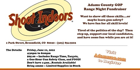 ACRC Shoot Indoors Range Night Fundraiswer tickets