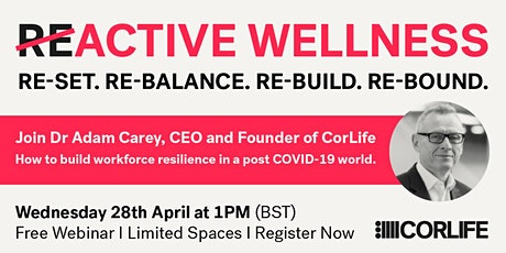 How to build workforce resilience in a post COVID-19 world tickets