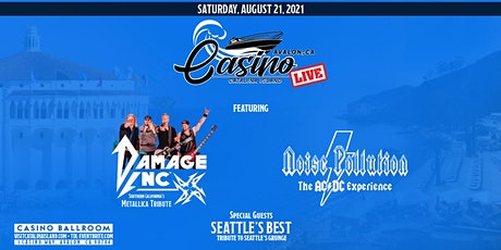 Damage Inc with Noise Pollution and Seattle's Best on Catalina Island tickets