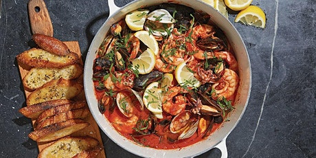 Cioppino Cooking & Wine Pairing for Steven Sibson tickets