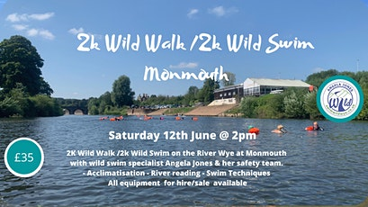 2K Wild Walk & 2K Guided Swim (Monmouth) tickets
