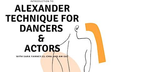 Alexander Technique for Dancers and Actors tickets