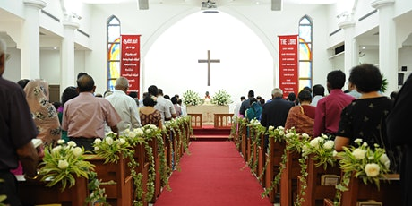 English Holy Communion Service   25 Apr 2021 tickets