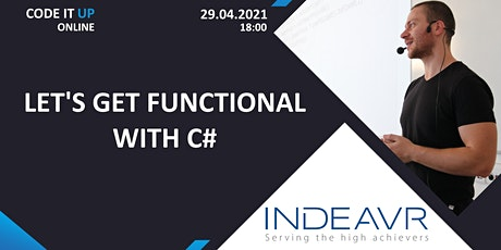 Let's Get Functional With C# - Code It Up Online Vol. 7 tickets