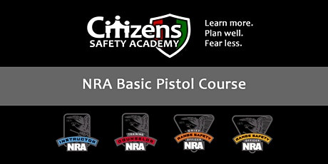 NRA Basics of Pistol Shooting (Private) tickets