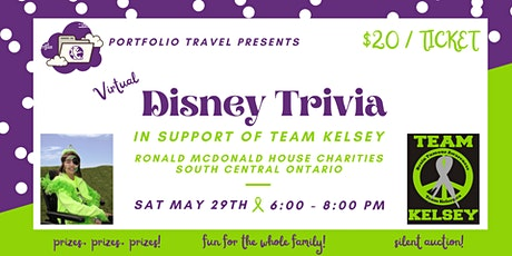 Virtual Disney Trivia Party tickets