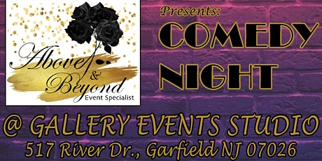 Comedy Night @ Gallery Events Studio tickets