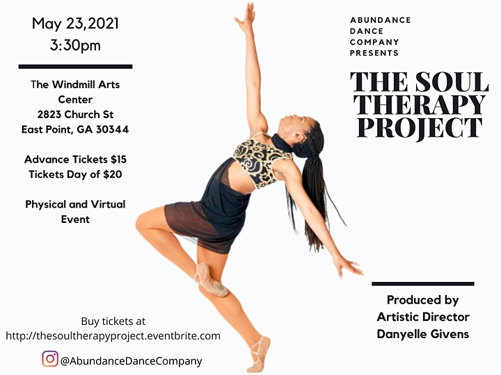 Abundance Dance Company Presents: The Soul Therapy Project image