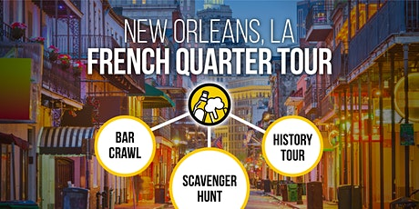 New Orleans Bar Crawl & French Quarter History Tour [Brews & Clues] tickets
