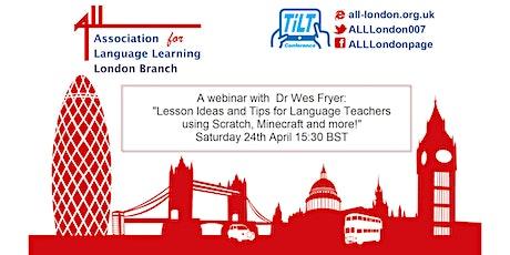 A TiLT Webinar with Dr Wes Fryer tickets