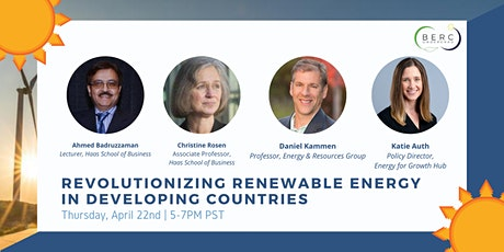Revolutionizing Renewable Energy in Developing Countries Panel tickets