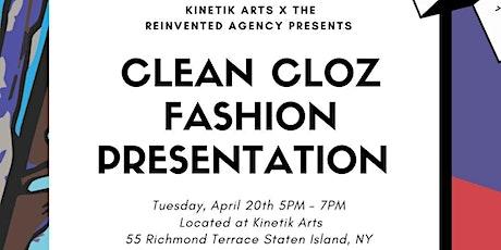 TRA X Kinketik Arts: Clean Cloz Fashion Presentation tickets