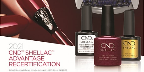 CND Shellac Digital Recertification Tickets