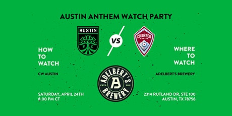 Austin FC vs Colorado Rapids Watch Party tickets