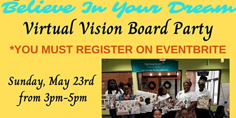 NCNW Norfolk ROSES & Rosebuds Believe In Your Dream Virtual Vision Boards tickets