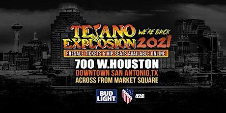 Tejano Explosion - Friday, June 25, 2021 tickets