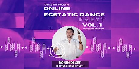 Dance The Medicine Online Ecstatic Dance Party Vol.1 | 24.04.20 tickets