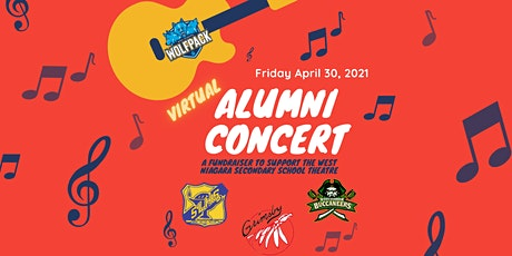 Alumni Virtual Concert to support the West Niagara Secondary School Theatre tickets