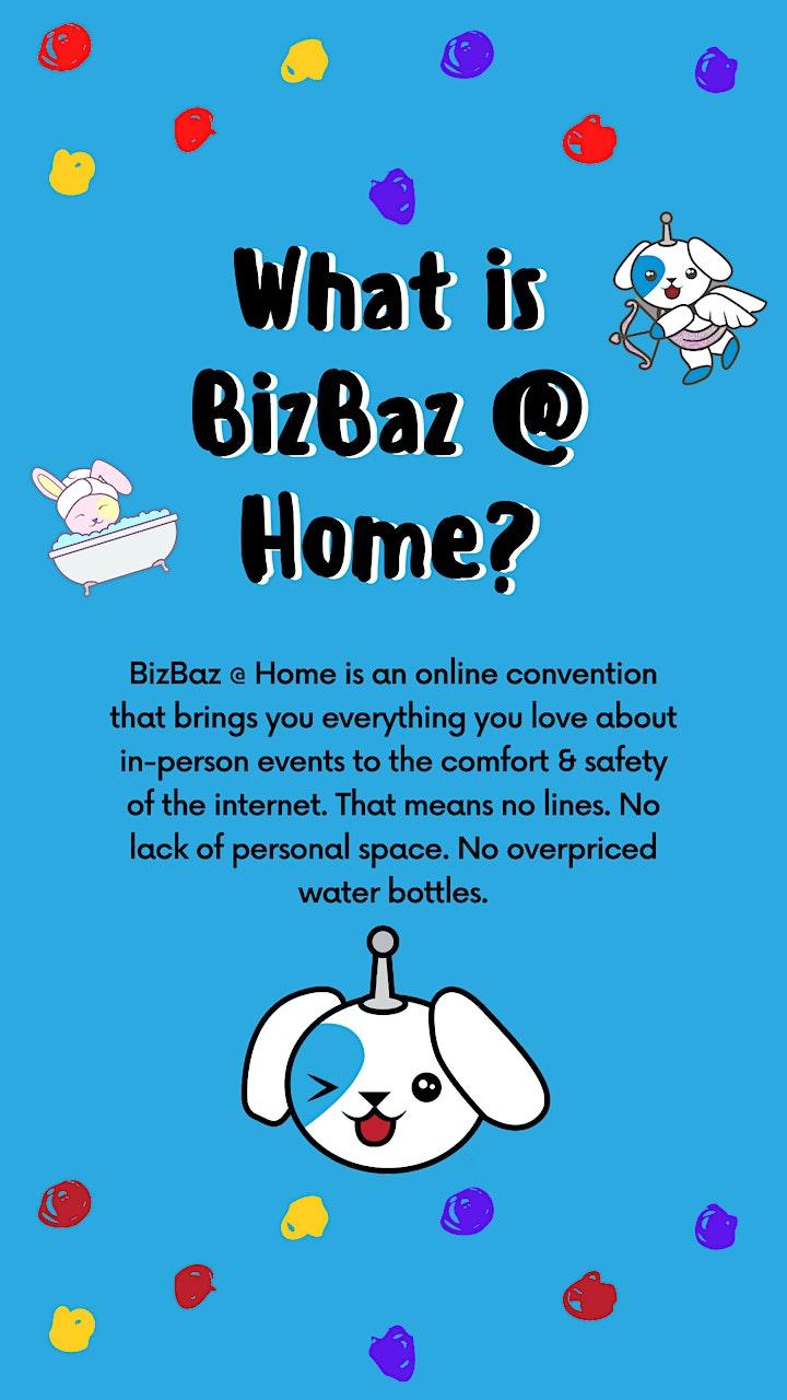 May's BizBaz @ Home! image