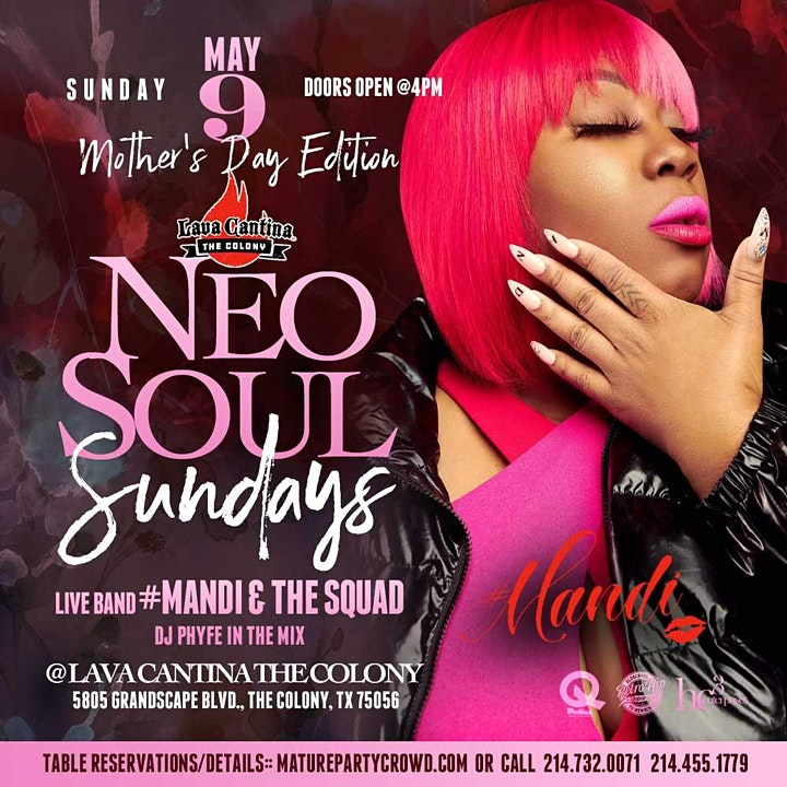 SPECIAL ENGAGEMENT: Neo Soul Sundays Hosted by 50 Cent ft Mandi & The Squad image