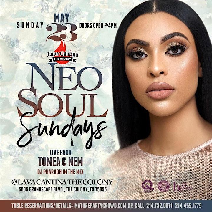 NEO SOUL SUNDAYS  feat TOMEA & NEM image