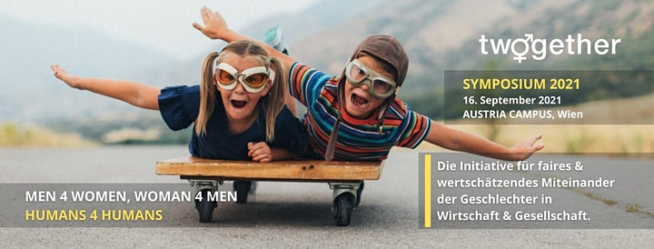 TWOGETHER.WIEN CROSSOVER-SYMPOSIUM – Men4Women, Women4Men - HUMANS4HUMANS: Bild