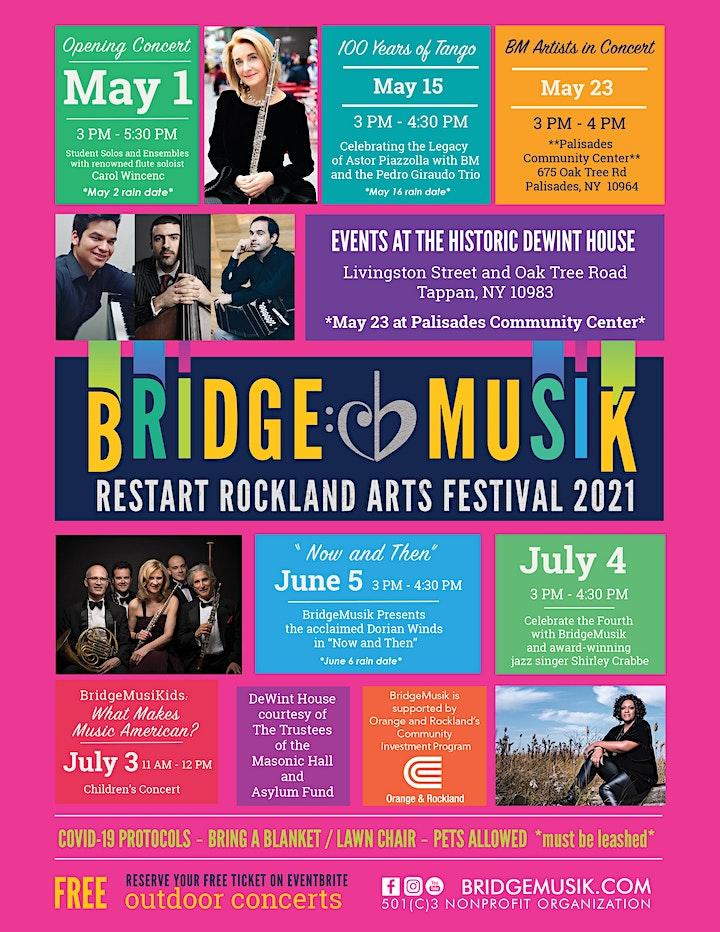 BridgeMusik Celebrates the Fourth featuring jazz singer Shirley Crabbe image