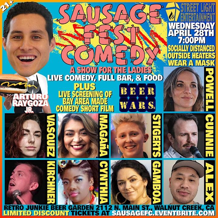 Sausage Fest Comedy: Secret Ladies Comedy Show  Live image