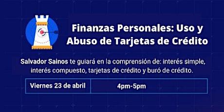 Finanzas personales: Uso y abuso de las  tarjetas de crédito entradas