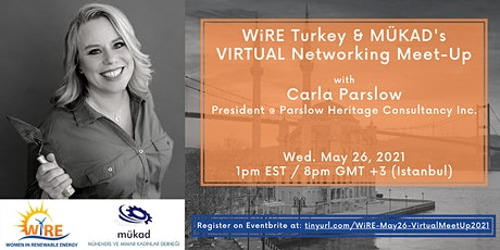 Virtual Networking Meet-Up with WiRE Turkey & MÜKAD tickets
