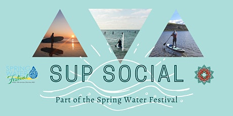 Spring Water Festival SUP Social tickets