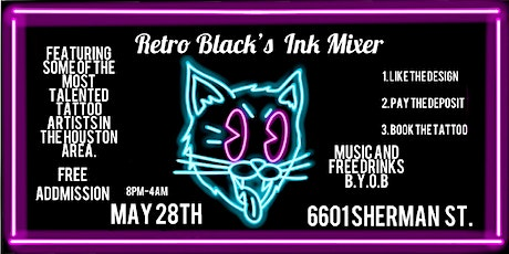 Retro Black's Ink Mixer entradas