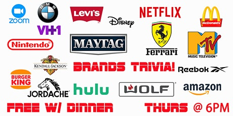 Thursday Trivia With Dinner - All About Brands! tickets