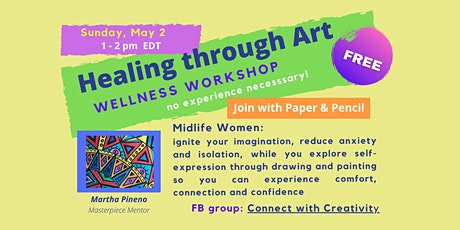 Healing through Art - Wellness Workshop tickets