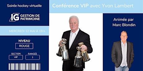 Conférence VIP (gratuite) avec Yvon Lambert billets