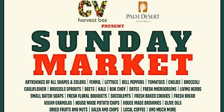 Sunday Farmer's Market tickets