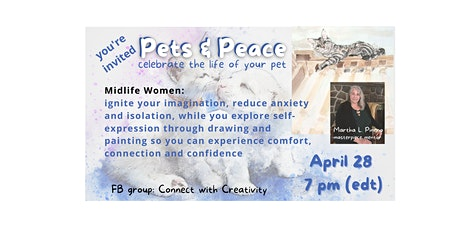 Healing through Art - Pets in Peace tickets