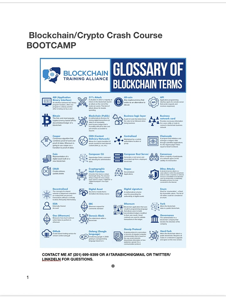 Blockchain Bootcamp (Part/Full-Time) image
