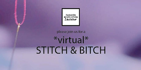 Fashion Revolution Zimbabwe Stitch and `Bitch: A Mental Health Check-in tickets